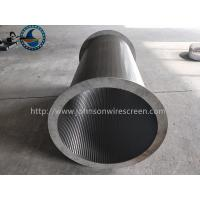Buy cheap Full Welded Wedge Wire Mesh For Wastewater Treatment Easy Installation from wholesalers