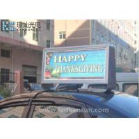 Buy cheap Customized Size Meanwell Car Led Sign Display Waterproof 160x160mm from wholesalers