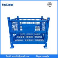 Buy cheap Heavy loading capacity foldable steel container from wholesalers