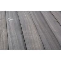 Buy cheap Macassar Ebony Quarter Cut Veneer , Black With White Lines from wholesalers