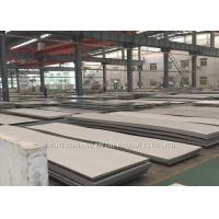 Buy cheap Hairline Finish Hot Rolled Stainless Steel Sheet 430 With PE Film Cover from wholesalers