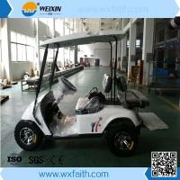 Buy cheap Solar Powered and Electric Powered Golf Cart for Sale from wholesalers