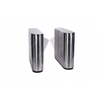 Buy cheap Stainless Steel Flap Barrier Gate,Controlled Access Turnstile Entry Systems from wholesalers