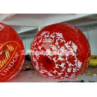 Buy cheap Outdoor Inflatable Games Colorful Inflatable Zorb Ball for Human , Human Hamster Ball . from wholesalers