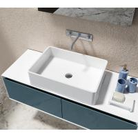 Buy cheap Solid Surface Counter Top Basin Smooth Non Porous Seamless Joint from wholesalers