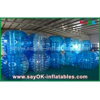 Buy cheap Durable Inflatable Sports Games / Transparent PVC TPU Inflatable Bubble Ball from wholesalers