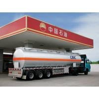 Buy cheap CIMC China 3 axle oil tanker truck trailer road tanker for sale from wholesalers