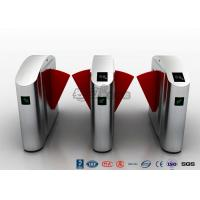 Buy cheap Flap Barrier Gate High Security Turnstile Entry Systems Waist Height Turnstiles from wholesalers