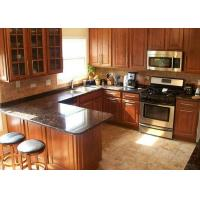 Buy cheap Brown Natural Granite Stone Counter Top for Kitchen / Bathroom Cabinets from wholesalers
