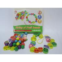 Buy cheap Wholesale Best Preschool Colorful Fruit Shaped Beads Superba Wooden Toys for Children from wholesalers