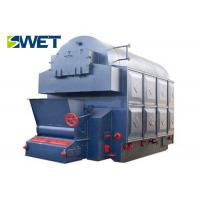 Buy cheap 2.5MPa Coal Fired Boiler , Double Drum Chain Grate Industrial Steam Boiler from wholesalers