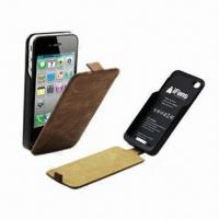 Buy cheap External Battery Cases for iPhone 4/4S,1,450mAh, MFi/CE/RoHS-approved, OEM, ODM Welcomed product