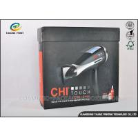 Buy cheap Earphone Cardboard Packing Boxes Full Color Printed With Magnetic Folding Lid from wholesalers