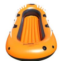 Buy cheap Eco Friendly 4 Person Pvc Inflatable Boat Set With 4 Set Oars from wholesalers