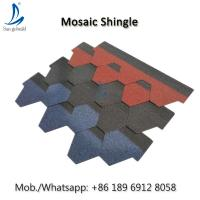 Buy cheap Factory Sale Chinese Villa Color Roof Shingles, Asphalt Roof Shingle Tiles Price In Philippines from wholesalers