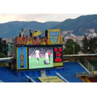 Buy cheap Outdoor IP65 Stadium Perimeter LED Display , LED Display Scoreboard For Basketball from wholesalers