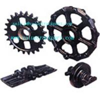 Buy cheap Crawler Crane Liebherr LR1650 Spare Undercarriage Parts Track Shoe Bottom Roller Sprocket from wholesalers