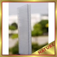 Buy cheap honeycomb polycarbonate sheet,PC honeycomb panel,hollow PC sheeting for construction,great building product! from wholesalers