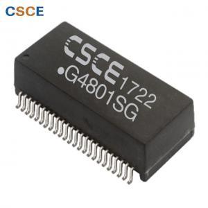 China Dual Port SMT Gigabit Ethernet Magnetics , 48 Pin 1000Base T Transformer Modules on sale