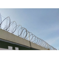Buy cheap 450Mm Hot Dipped Army Security Concertina Barbed Wire from wholesalers