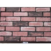 Construction Cement Faux Exterior Brick For Wall Decoration Solid