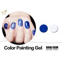 Buy cheap Durable Nail Art Gel Paint , Harmony Color Uv Painting Gel European Standard product