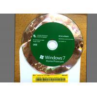 Original DVD Win 7 Basic Home , Windows 7 Retail Version For 1 PC Using
