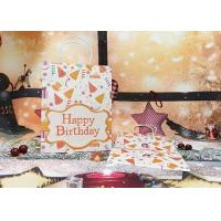 Buy cheap Stylish handmade recycled factory price birthday greeting paper Bags with fancy features from wholesalers