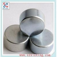 Buy cheap N35 Cylinder Neodymium Magnet Dia8*H20mm, Zinc coated, used for reed switch the price is USD0.315/pc FOB China from wholesalers