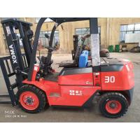 Buy cheap Container lifting mast Energy Saving 3 ton Diesel Forklift Truck from wholesalers