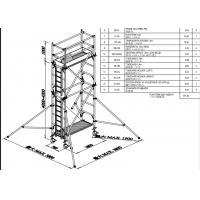 Buy cheap Mobile Aluminium Scaffold Tower Durable 7.5m Easy Towers Scaffolding product