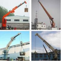 Buy cheap Deck Cargo Handling Marine Crane from wholesalers