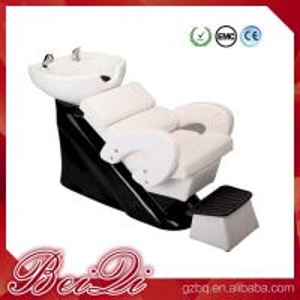 Buy cheap Hair shampoo station wholesale salon furniture luxury massage shampoo chair wash unit product