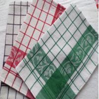 Buy cheap Yarn Dyed Quick - Dry Kitchen Tea Towels / Cotton Dish Towels For Airplane Use from wholesalers