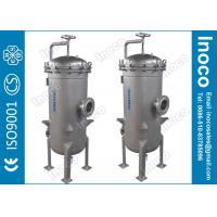 Buy cheap BOCIN Industrial Water Multi-bag Filter Housing Stainless Steel with 5um Micron Rating from wholesalers