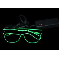 Buy cheap Fun Festival Led Flashing Glasses Battery Powered Illuminated Sunglasses from wholesalers