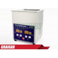 Buy cheap Digital Ultrasonic Cleaner Ultrasonic Cleaning Equipment 1.3L for Glasses , Razor ,  Jewellery from wholesalers