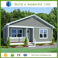 Buy cheap prefab house for sale EPS/rockwool insulation steel structure prefab house from wholesalers