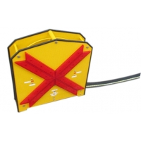 Buy cheap 3500mm Height LED Dynamic Flashing Arrow Boards from wholesalers