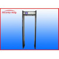 Buy cheap underwater metal detector door frame metal detector security metal detectors with 45 zones from wholesalers