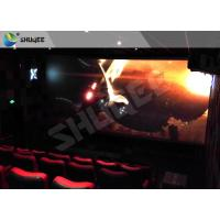 Buy cheap Children Amusement 4D Cinema Movie Theater With Electric System Motion Seat CE product