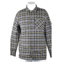 Buy cheap Long Sleeve Cotton Flannel Plaid Work Shirts With Company Embroidery Logo from wholesalers