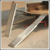 Buy cheap High Performance Pickup Trucks / Vans Steel Folding Ramps 98x24x11CM from wholesalers