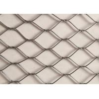 Buy cheap Hand Made Stainless Steel Wire Rope Netting Versatile Oxidize Resisting from wholesalers
