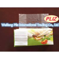 Buy cheap Packaging fruit, rice, fresh food, transparent flat plastic food bag on roll HDPE TRANSPORT 240*320mm 8mic from wholesalers