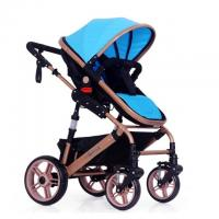 Buy cheap European Style Baby Strollers High View Folding Baby Pram for 1-12 month Baby from wholesalers