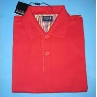 Buy cheap CVC Material Polo Shirt, Short Sleeves in Red Color as YT-2802 from wholesalers