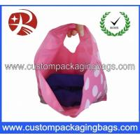 Buy cheap Promotional Pretty Anti-Static Die Cut Handle Plastic Bags For Household from wholesalers