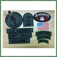 Buy cheap Custom PVC Morale Rubber Patch Rubber from wholesalers