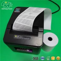 Buy cheap Black Image Cash Register Thermal Paper Rolls Black Image Grade A Level High Brightness product